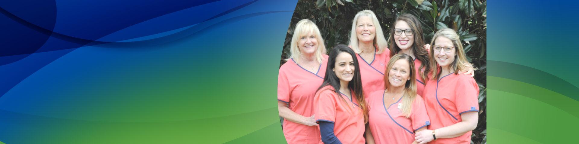 dental cleaning team